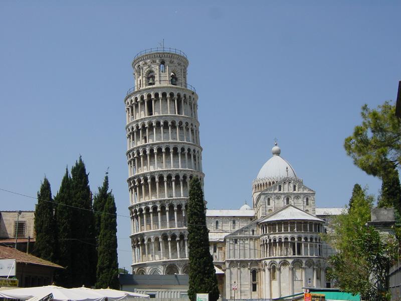 ピサの斜塔とドゥオーモ